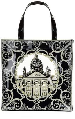Harrods Frame Cut-Out Shopper Bag