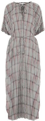 Stella McCartney Check wool-blend dress