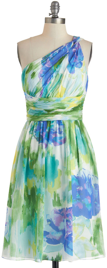 The Beauty of Brushstrokes Dress