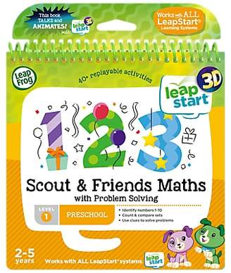 Leapfrog LeapStart 3D Scout and Friends Maths and Problem Solving Activity Book