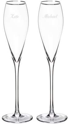 Cathy's Concepts Cathys Concepts Personalized Champagne Flute Glass