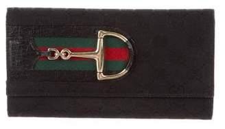 Gucci GG Canvas Hasler Wallet