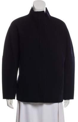 Vince Wool Zip-Up Jacket