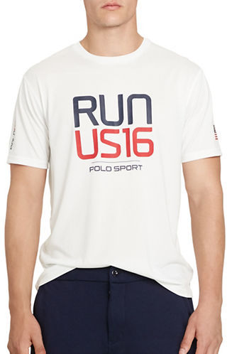 Polo Sport Performance Graphic Jersey T-Shirt