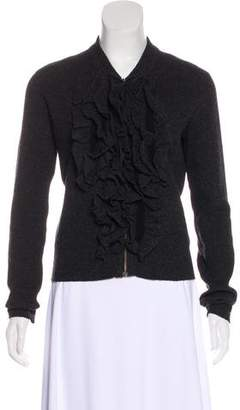 Lanvin Cashmere & Wool-Blend Cardigan