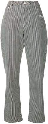 Off-White stripped tapered trousers