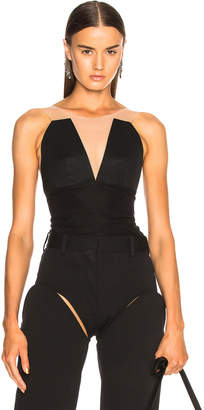 Rick Owens Prong Bustier Top