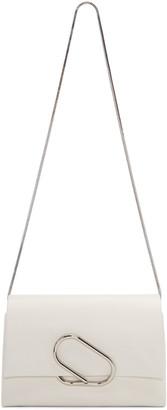 3.1 Phillip Lim White Alix Flap Bag $895 thestylecure.com