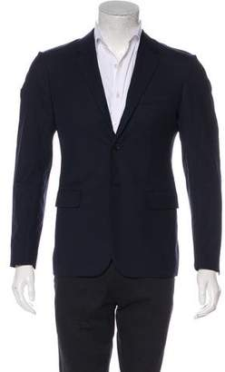 Marni Houndstooth Virgin Wool Blazer