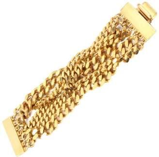 Ben-Amun Ben Amun Gold Chain Torsade Bracelet