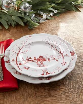 Juliska Country Estate Winter Frolic Dessert/Salad Plate