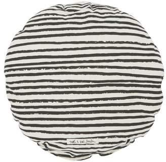 Noë & Zoe Circular Striped Pillow