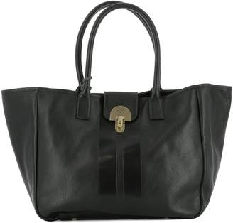 Il Bisonte Black Leather Shoulder Bag