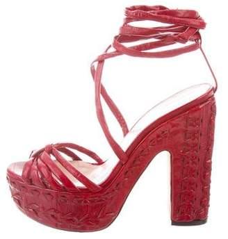 Ballin Alchimia Di Leather Lace-Up Sandals