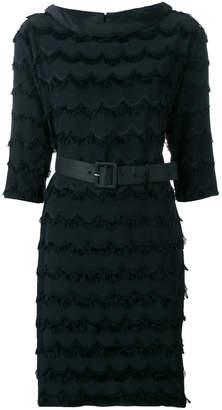 Marc Jacobs fringed belted dress