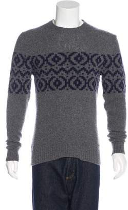 Woolrich Wool-Blend Printed Sweater