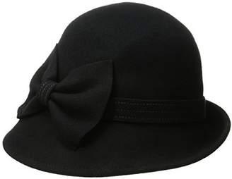 Collection XIIX Women's Mod Bow Cloche Hat $8.73 thestylecure.com