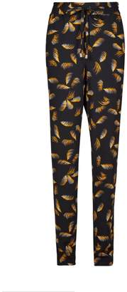Dorothy Perkins Womens **Tall Feather Print Joggers