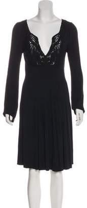 DAY Birger et Mikkelsen Knee-Length Long Sleeve Dress