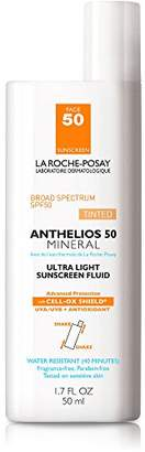 La Roche-Posay Anthelios 50 Mineral Sunscreen SPF 50 Ultra-Light Fluid Face Sunscreen for Sensitive Skin