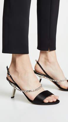 Ballin Alchimia Di Satin Strass Sandals
