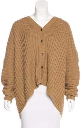 Michael Kors Alpaca & Silk Button-Up Cardigan