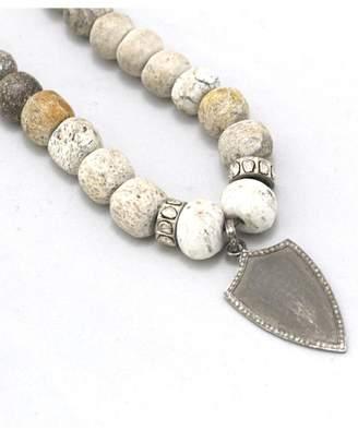Lightfoot Maria Oss Shield Necklace