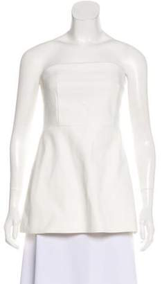 Tibi Structured Strapless Blouse