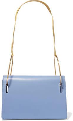 Roksanda Dora Leather Shoulder Bag - Blue