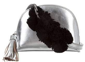 Loeffler Randall Metallic Leather Crossbody Bag