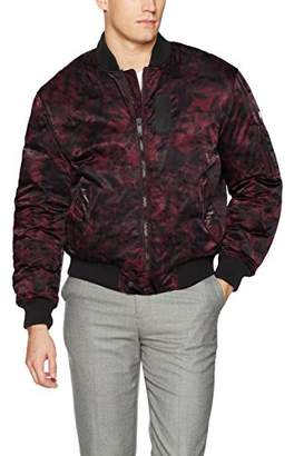 Calvin Klein Jeans Men's Aviator Bomber Puffer Jacket