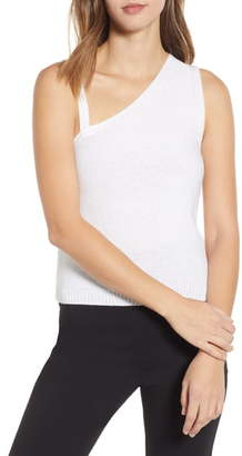 ENGLISH FACTORY Asymmetrical Knit Camisole