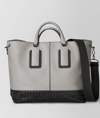 Bottega Veneta CEMENT FRENCH CALF NICOLO TOTE