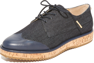 MICHAEL Michael Kors Zane Oxfords $175 thestylecure.com