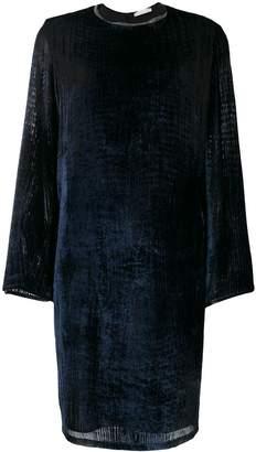 Fabiana Filippi long-sleeve flared dress