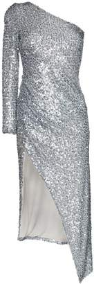 Galvan Mamounia one shoulder dress