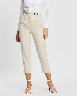 Forcast Angela High-Waisted Trousers