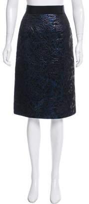 Dolce & Gabbana Metallic Brocade Skirt