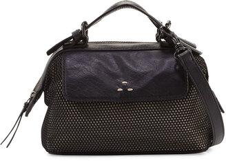 Kelsi Dagger Heritage Mini Mesh Crossbody Bag, Black/Multi $110 thestylecure.com