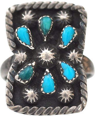One Kings Lane Vintage Turquoise Constellation Ring - Marteau Jewelry