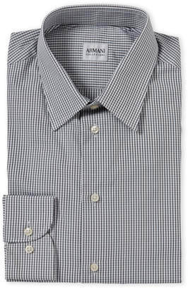 Armani Collezioni Check Modern Fit Dress Shirt
