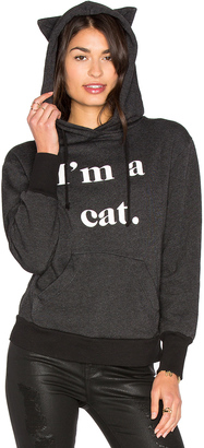 Wildfox Couture I'm a Cat Hoodie $124 thestylecure.com