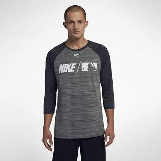 Nike Dri-FIT Men's 3/4-Sleeve Baseball T-Shirt