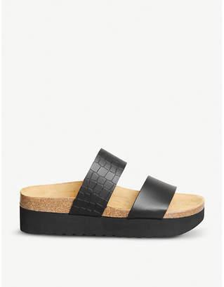 Office Magnetic 2 flatform sandals