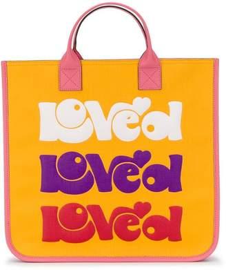 Gucci Kids multicoloured print tote bag
