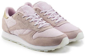 Reebok Mesh and Suede Sneakers
