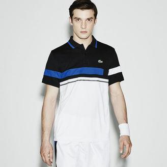 Men's Sport Ultra Dry Color Block Tennis Polo Shirt $98 thestylecure.com