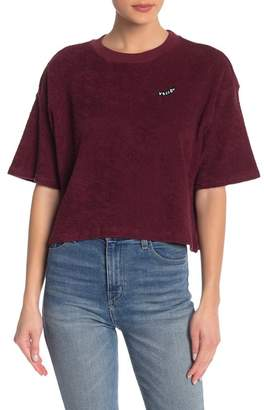 Volcom Recommended 4 Me Terry Crop Tee