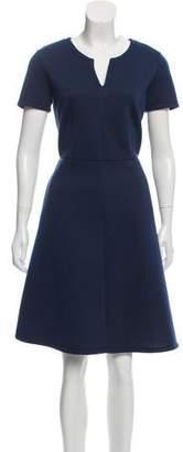 Max Mara Weekend Short Sleeve A-Line Dress