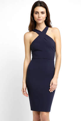LIKELY Halter Neck Carolyn Ponte Sleeveless Dress